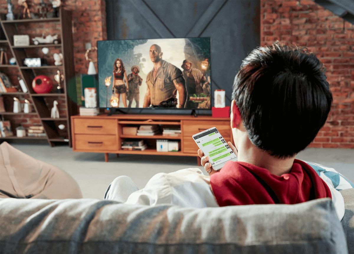 """'投屏""""或将成电视标配,有线电视也将推动大小屏联动"""